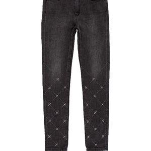 5/$25 Brockenbow embellished Jeans